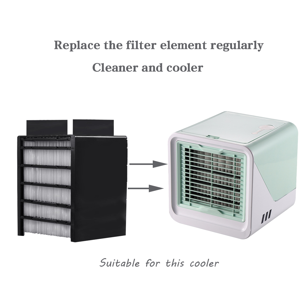 Mini Air Cooler Conditioner Replacement Filter Compatible With Humidifier Filter Alternatives High Quality Of Filter Paper