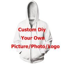 Liasoso 3d печать индивидуального рисунка толстовки фотографии