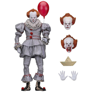 NECE Horror Movie Stephen King's It Figure Demon Joker Model PVC Collectible Doll Fun for Kid Action Figures Toy 18CM
