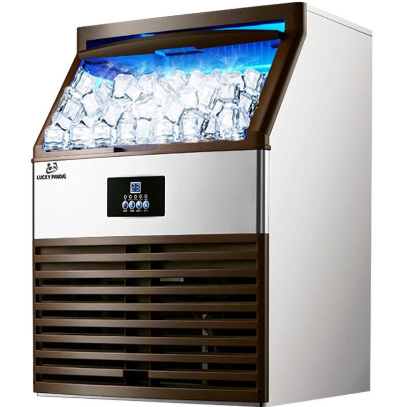 150 kg/24 H קרח מקבלי קרח עושה המכונה חלב תה חדר/קטן בר/קפה חנות באופן מלא אוטומטי גדול קרח קוביית מכונה