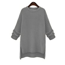 Women Sweater Autumn Winter Basic Knitwear Casual Pullovers Simple Loose Plus Size Knitted Sweaters Female Black Red Hot Sale