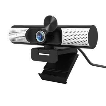 TISHRIC Best C500 1080p Webcam Web Camera USB PC Camera Network Webcam Cover Anti Peeping Web Cam Built In Speaker/Microphone 1