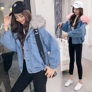 2019 Lady Quality Increase Thickening Exceed Heavy Cotton Lamb Short Loose Coat