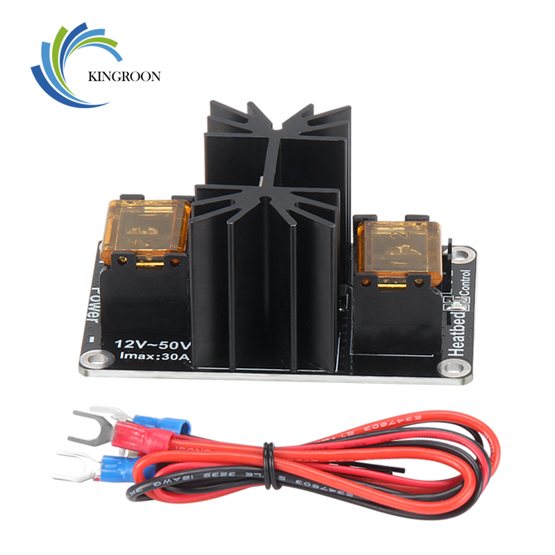 KingRoon MOS High Power High Current Load HeatBed Control Module 3D Printer Expansion Board 12-50V 30A