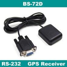 Beitian, 5.0 v RS-232 nível db9 fêmea conector rs232 receptor gps, 9600bps, NMEA-0183 protocolo, 4 m flash, BS-72D
