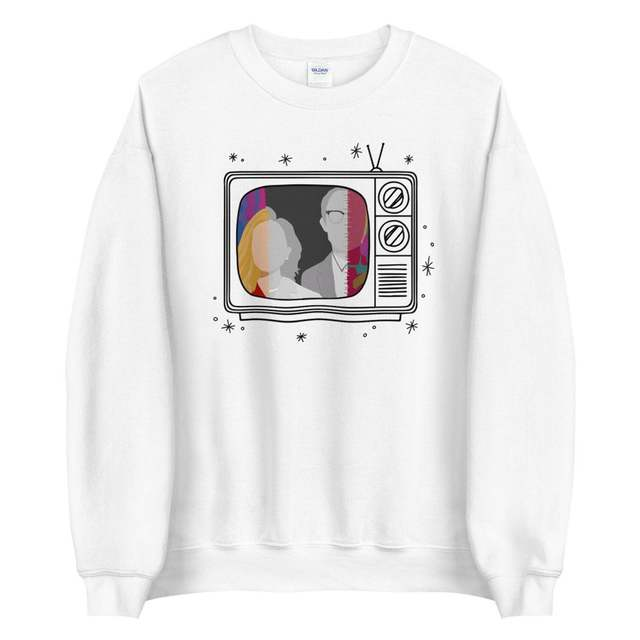 New Tv Show WandaVision Sweatshirt An Unusual Couple Wanda TV Graphic Crewneck Pullover Scarlet Witch Hoodie Hipster Tops 5