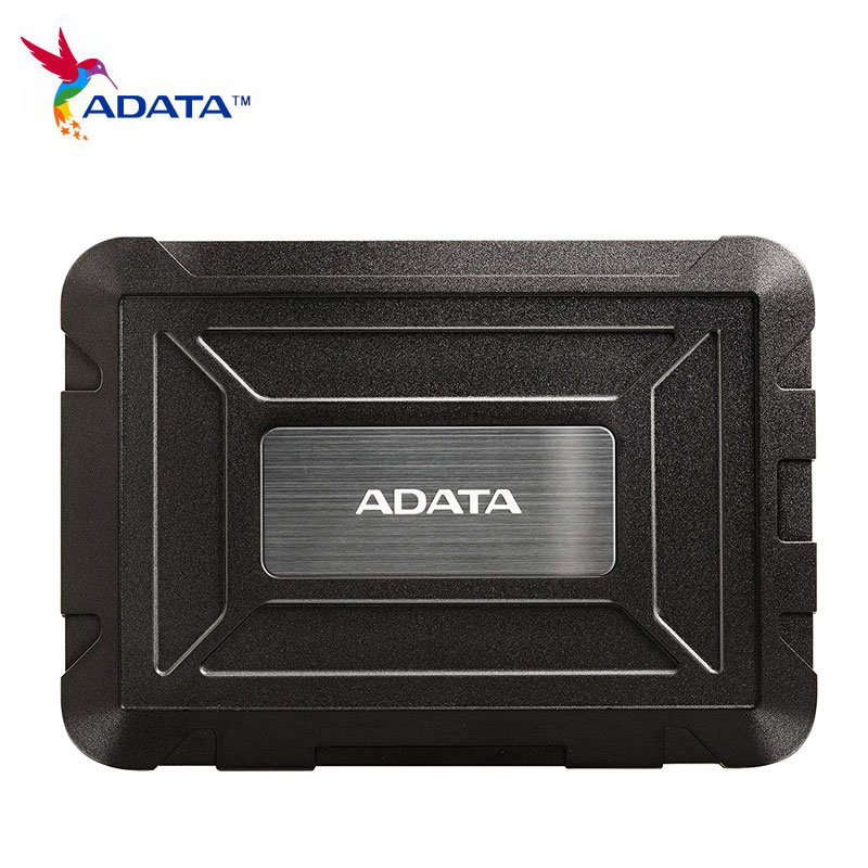 Adata HDD Enclosure 2.5 Usb 3.0 Sata Usb Case ED600 External Hard Disk Box IP54 SSD HD Drive Black USB3.1 Dock Station Dropship