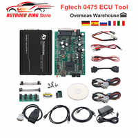 Free Ship Fgtech Galletto V54 ECU Chip Tuning Fgtech 0475 Unlocked Version Support Tricore BDM JTAG EGR DPF For Car&Truck