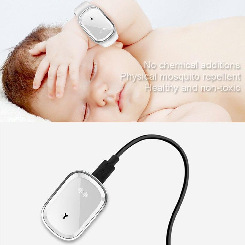 Ультразвуковой комаров браслет ребенка открытый комаров браслет репеллент устройство москитная для взрослых