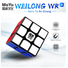 MoYu Weilong WR M 3x3x3 Magnetic speed magic cube 3x3 puzzle cubo magico Competition Cubes