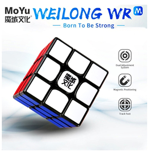 Image 1 - Moyu 威龍 wr メートル 3 × 3 × 3 磁気速度マジックキューブ 3 × 3 パズル立方競争キューブ