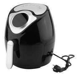 2.8L Capacity 1300W Intelligent Temperature Control Commercial Electric Air Fryer Smokeless Kitchen Cooker EU Plug Black