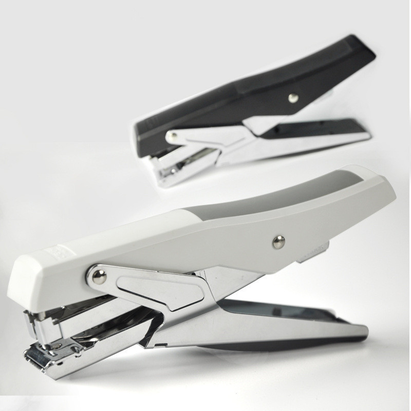 Hand Stapler Set Metal Plier Stapler Stationery With Staples Stapling Large Durable Office Binding Supplies 20 Sheets