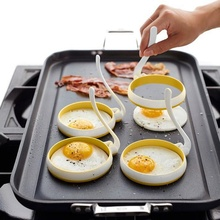 2pc/set Kitchen Cooking Tools Pancake Egg Pancake Rings Nonstick Cooking Tool Cheese Cooker Eggs Mold Kitchen Baking Accessories недорого