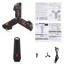 Drone Aircraft Flash-Light Remote-Control-Toy Creative with Ufo Rc-Quadcopter Boomerang