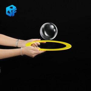 Невидимая ракетка для показа пузырьков, только один магический трюк