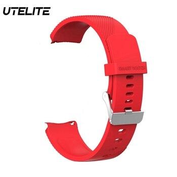 Correa de reloj UTELITE Original L7 L9 L11Smart a prueba de agua ECG pulsómetro Monitor de presión arterial pantalla completamente táctil correas de pulsera