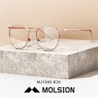 Molsion Brand Designer Optical Glasses Frame for Women Fashion Luxury Prescription Eye Spectacles MJ7080