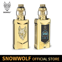 Vape kit E super power 200W Electronic cigarette kit sigelei Snowwolf mfeng kit