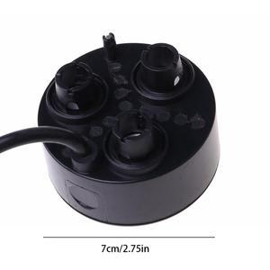 Image 4 - 3 kafa Mist Maker Atomizer ultrasonik hava nemlendirici sisleyici nebulizatör ab tak