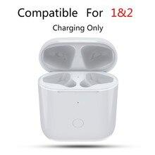 Boîtier de chargement sans fil adapté aux Airpods 1 et 2, boîtier de chargement parfait pour le remplacement des Pods