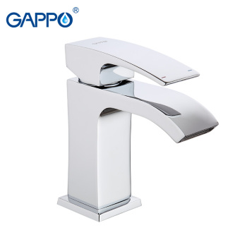 GAPPO Basin Faucet Water Tap Faucet  for Bathroom Solid Brass Chrome Single Handle Waterfall Sink Tap Mixer 10