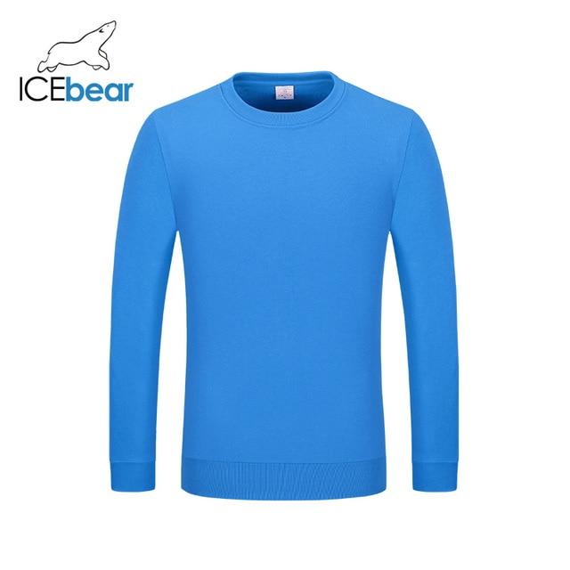 icebear 2020 New Casual Long Sleeve Round Neck Sweatshirt Pullover Men/Women Neutral style 029 8