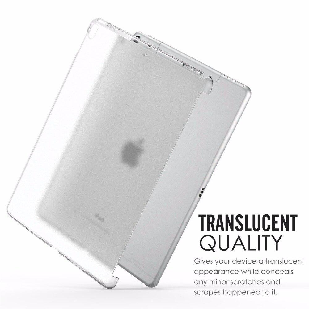 Crystal Case para Apple iPad 10.5 Pro Polegada Claro Soft Gel TPU Capa De Silicone para o iPad Pro 10.5