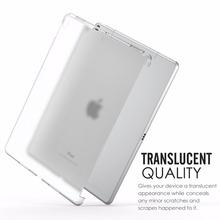 Crystal Case for 2017 Apple iPad Pro 10.5 Inch Clear Soft Gel TPU Silicone Cover for iPad Pro 10.5