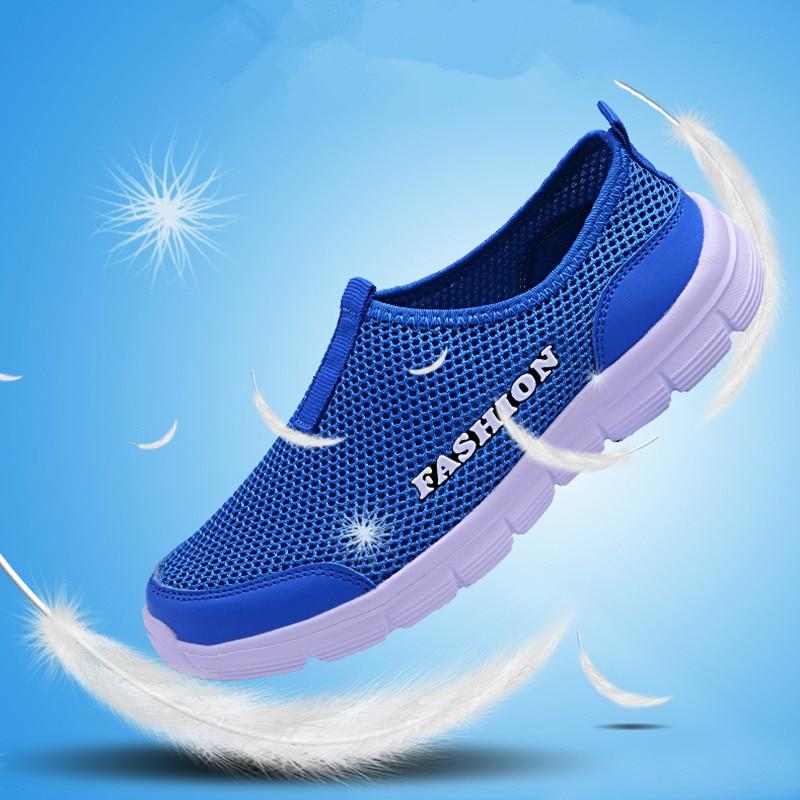 Breathable Mesh Casual Men Shoes Summer Sneakers Men Footwear Running Shoes Men's Lightweight Slip-on Sandals Zapatos De Hombre 5