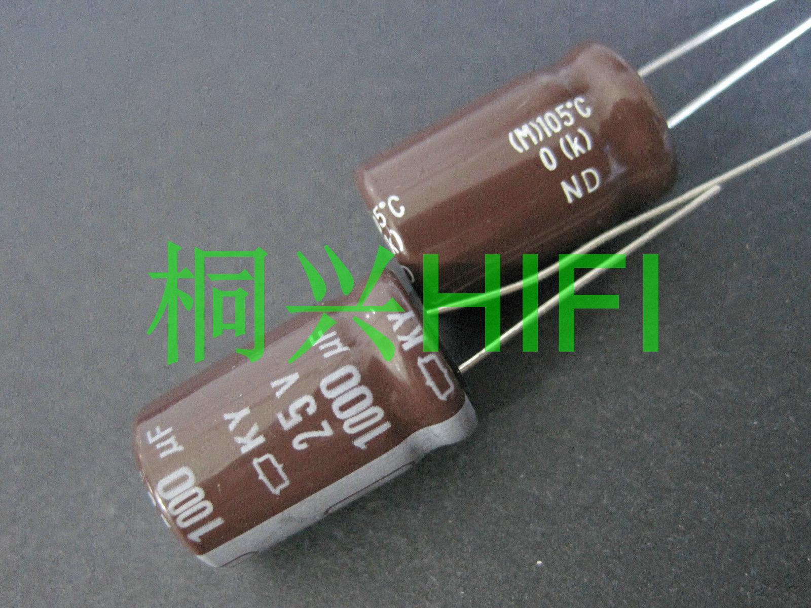 20pcs NEW CHEMI-CON NIPPON KY 25V1000UF 12.5x20MM Electrolytic Capacitor 1000UF 25V NCC Ky 25v 1000uf