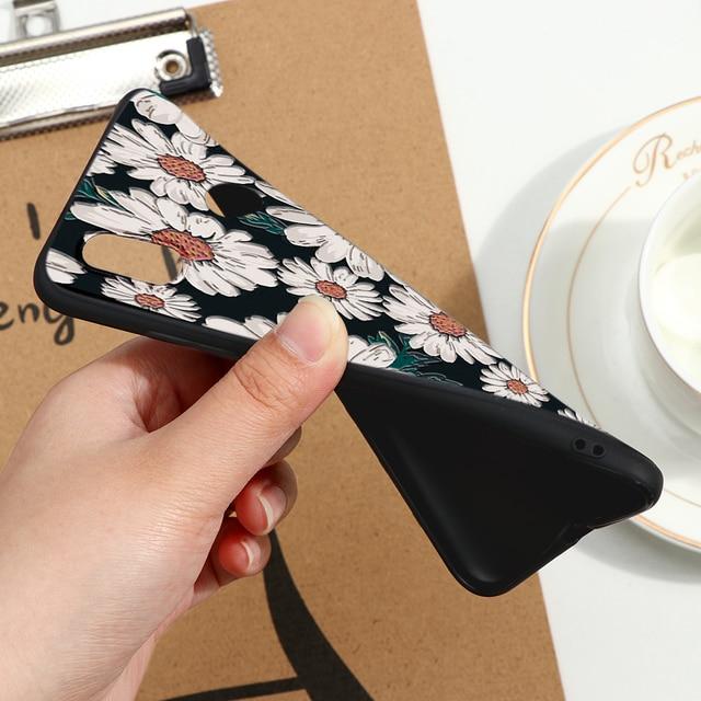 Case For Xiaomi Redmi Mi A2 Lite Note 9 8 10 7 6 5 Plus K30 K20 Pro 8T 5A 4X 6A 7A 8A Silicone TPU Cover Embossed 3D Relief Case 5