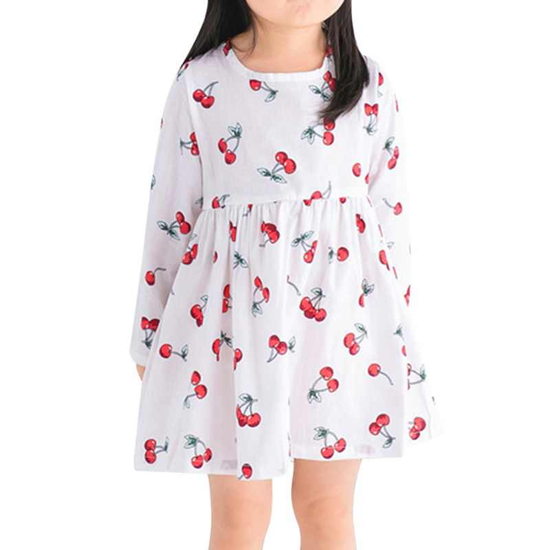 Spring Autumn Girl Dress Kids Children Gown Girls Long Sleeve Plaid Robe Soft Cotton Summer Princess Dresses Baby Girls Clothes