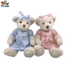 Kawaii Teddy Bear Plush Toys Stuffed Animals Doll Infant Baby Kids Children Boy Girl Birthday Wedding Gift Room Decor Crafts