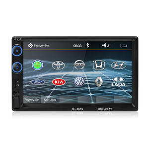 Image 2 - 2 Din Car Radio Bluetooth Mirror link Android 9 Car Multimedia Player HD Touch Autoradio MP5 USB Audio Stereo Car Monitor