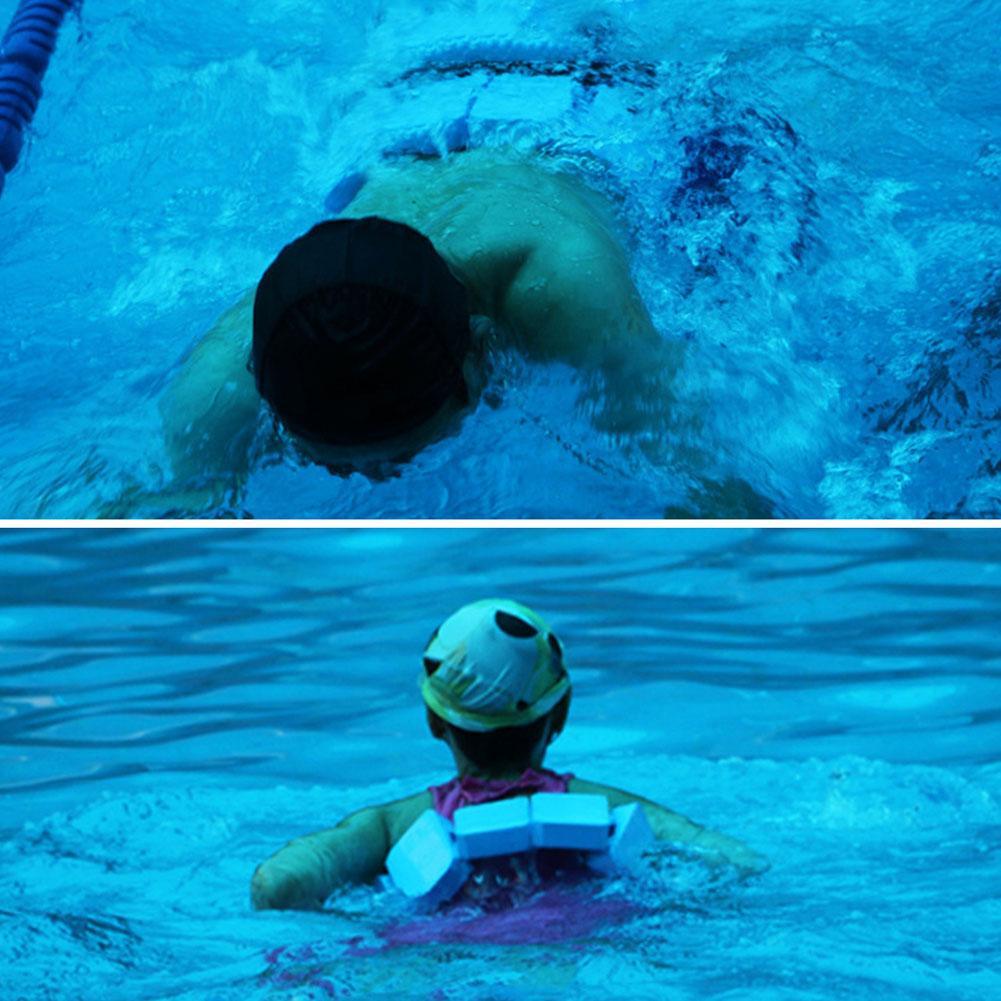 Adjustable Swimming Float Board Kids Adult Pool Swimming Beginner Safety Training Waist Belt Floating EVA Board