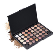 40 cores fosco sombra paleta terra cor shimmer glitter terra sombra de olho conjunto de energia cosméticos maquiagem ferramentas compõem