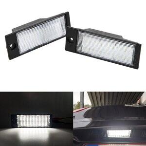 2 шт. Автомобильные светодиодные номерные знаки 12 В SMD LED лампа для подсветки номерного знака Набор для Tuscon 2015-2018 для IX35 2015-2018