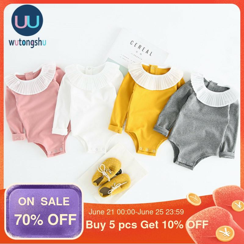 Baby Girl Rompers Spring Summer Infant Cotton Long Sleeve Newborn Baby Girl Clothing Body Bebe Newborn Baby Outfits Dropshipping