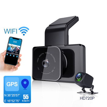 Car DVR Video Recorder Dash Cam Car Hidden GPS WIFI Camera HD 1080P Car Cam Recorder Vehicle  Parking Monitor Dashcam