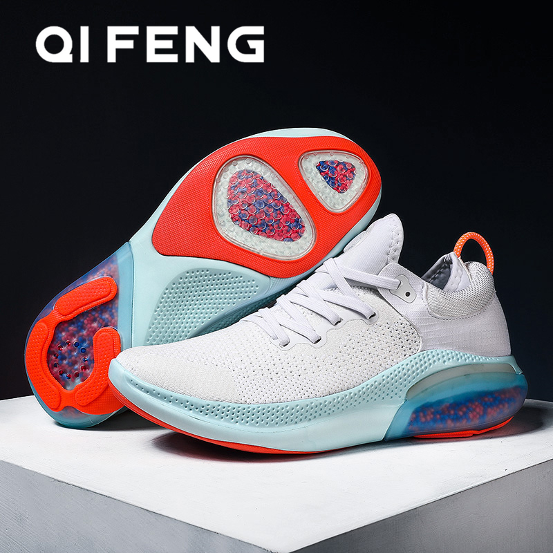 2020 New Air Running Shoes Men Breatheable Mesh Sneakers Teenage Male Footwear Sport Shoes Soft Bottom Fashion Young Shoes Male