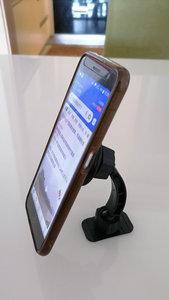 Image 5 - Tikigogoใหม่แม่เหล็กคู่Ballการหมุนแม่เหล็กโทรศัพท์ผู้ถือขาตั้ง