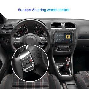 Image 4 - Isudar araba multimedya oynatıcı Android 10 GPS 2 Din araba radyo ses için otomatik VW/Volkswagen/POLO/PASSAT/Golf 8 çekirdek RAM 4G 64G DVR