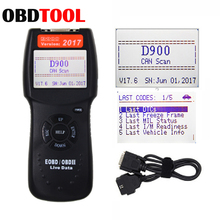 Diagnostic-Tool OBD2 Code-Reader-Scanner Codes EOBD Reading D900 CANBUS Trouble Data-Fault