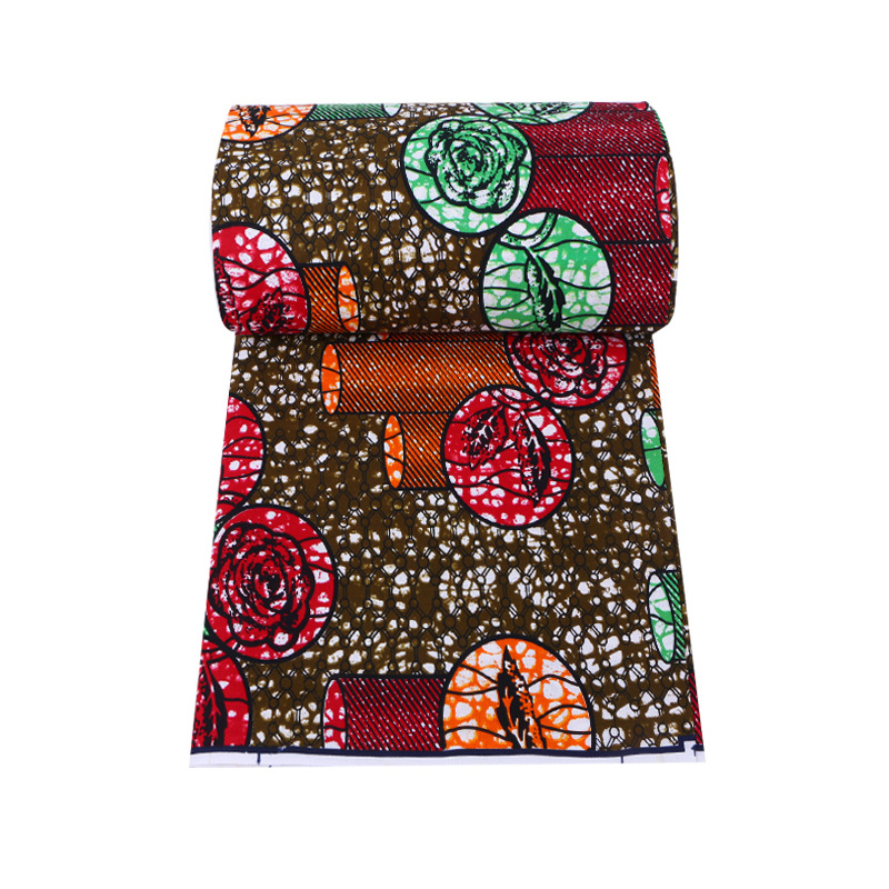 Latest Fashion Design African 100% Cotton Print Fabric pagnes africain  Wax