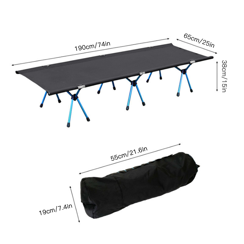 Outdoor Stove Hiking Camping Cot Folding Bed Outdoor Beach Camping Mat Sturdy Comfortable Portable Folding Tent Bed Cot Sleeping