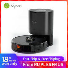 Kyvol Cybovac SC1MQ Robot Vacuum and Mop Automatic Dirt Disposal Lidar Navigation 3000Pa Suction Robotic Vacuum Cleaner with Ma
