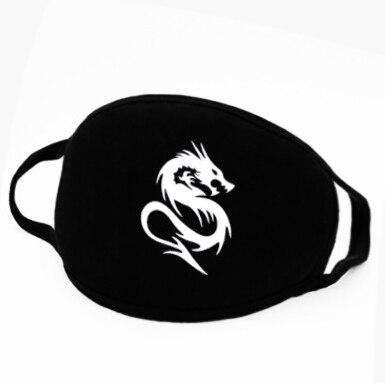 Jiangzimei 5pcs Multi-Style Fashion Korean Cycling Dustproof, Windproof, Haze Proof, Sunscreen, Pure Cotton, Breathable Mask
