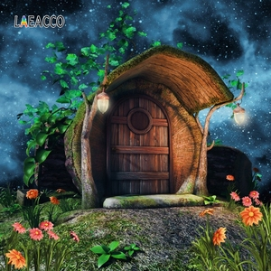 Image 5 - خلفيات تصوير Laeacco Wonderland لصور وخلفيات تصوير لصور فطر الغابات وخلفيات لأعياد ميلاد الأطفال