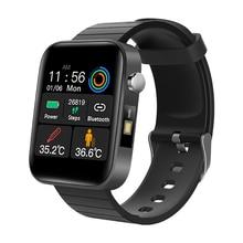 T68 Men Women Smart Watch with Body Temperature Measure Sports Fitness Watch Heart Rate Blood Pressure Oxygen Monitor Smartwatch